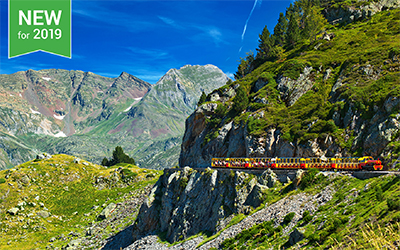Little Trains of the Pyrenees at Christmas